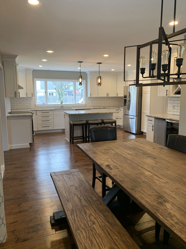 Kitchen and Dining Room Remodel Hudak
